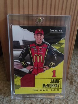 2017 Panini Fathers Day Jamie McMurray Relic