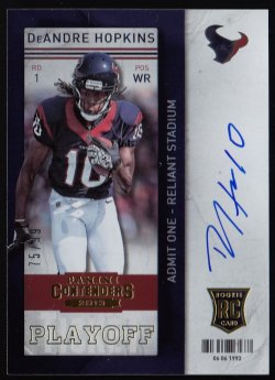2013 Panini Contenders Playoff Ticket DeAndre Hopkins