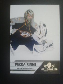 2011 Panini All Goalies Box Set #45 Pekka Rinne