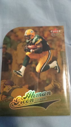 2004 Fleer Ultra Ahman Green
