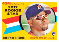 2017 Topps Archives Yulieski Gurriel Rookie Star