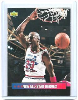 1992-93 Upper Deck  Michael Jordan all star
