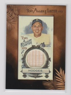 2019 Topps allen and ginter gil hodges