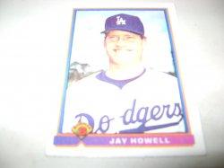 1991 Bowman TOPPS JAY HOWELL
