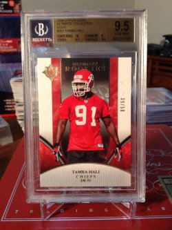 2006 Upper Deck Ultimate Collection  Tamba Hali rookie /50