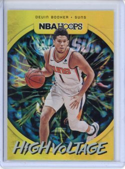 2019-20 Panini Hoops Devin Booker High Voltage