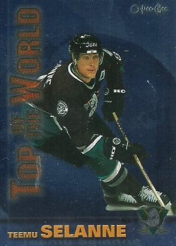 1999/00 O-Pee-Chee  Top of the World Selanne