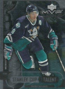 1999/00 Upper Deck MVP SC Edition Stanley Cup Talent Selanne