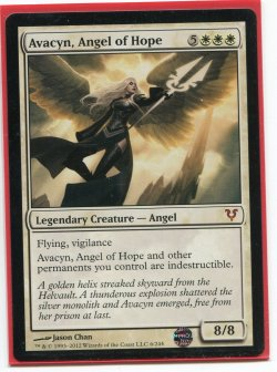 2012  Avacyn Restored Avacyn, Angel of Hope