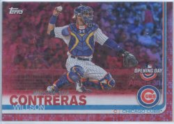 2019 Topps Opening Day Red Foil Willson Contreras