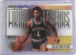 2019  Panini illusions Oscar Robertson Living Legends