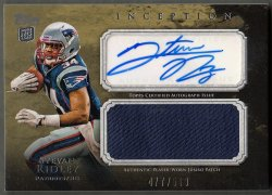 2011 Topps Inception Rookie Jumbo Patch Autographs  Stevan Ridley