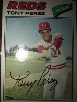 1977 Topps  Tony Perez