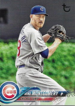 2018 Topps Update Vintage Stock Montgomery