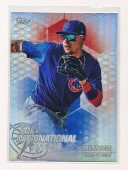 Javier Baez 2018 Topps Chrome Update An International Affair