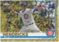 2019 Topps Chrome Gold Wave Refractors Kyle Hendricks