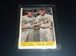 1958 Topps  Duke Snider and Walter Alston