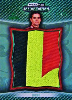 2010 Press Pass Showcase Jeff Gordon