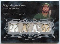 2008 Topps Sterling Reggie Jackson Moments