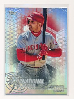 Joey Votto 2018 Topps Chrome Update An International Affair