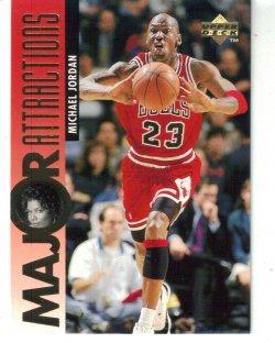 1995-96 Upper Deck Queen Latifah Michael Jordan