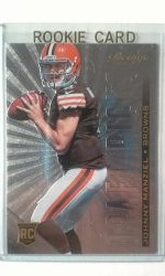 2014 Panini Prestige Draft Picks Johnny Manziel