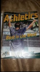 Josh Reddick Athletics Magazine IP Autograph