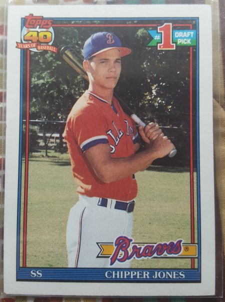 1991 Topps Chipper Thomas Blowout Cards Forums