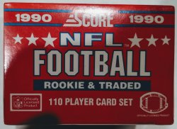 1990 Score Rookie & Traded 110 Player Card Set