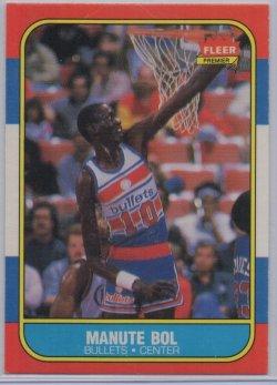 1986-87 Fleer  Manute Bol