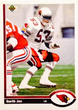 1991 Upper Deck  Garth Jax