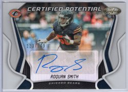 2019 Panini Certified Roquan Smith Certified Potential Signatures