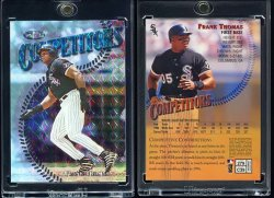 1997   Finest Silver Embossed Refractor (Non Embossed Version) Frank Thomas