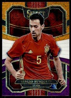2017-18 Panini Select Sergio Busquets