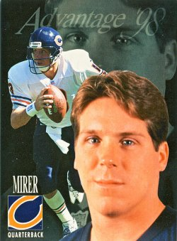 1998  Collectors Edge Advantage Rick Mirer