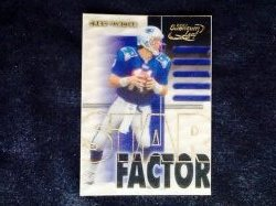2000 Donruss Quantum Leaf Star Factor Drew Bledsoe #SF11