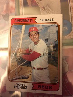 1974   Tony Perez