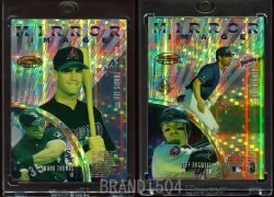 1997   Bowmans Best Mirror Image Atomic Refractor Inverted Frank Thomas Jeff Bagwell Derek Lee Travis Lee
