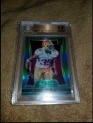 2013 Panini Select Green Prizm Eric Reid RC