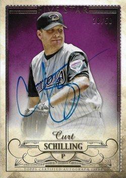 2016 Topps Five Star Autographs Curt Schilling