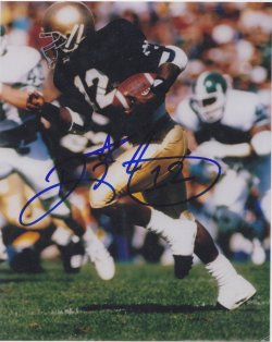 Ricky Watters Signed IP 8x10 Photo