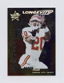 2000 Leaf Rookies and Stars Longevity #130 Dante Hall/30