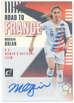 2019 Donruss Road to France Autographs Morgan Brian