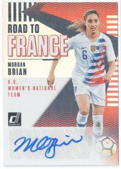 2019 Donruss Road to France Autographs Morgan Brian