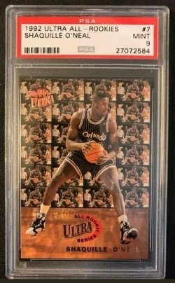 1992-93 Fleer Ultra All Rookies Shaquille Oneal