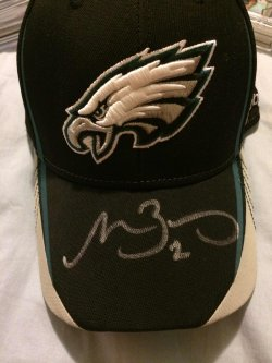 2013 Panini  Matt Barkley Autograph Draft Day Hat
