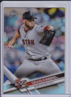 Craig Kimbrel 2017 Topps Chrome Update Refractor /250