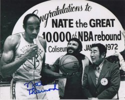 Nate Thurmond 8x10 Photo IP Autograph