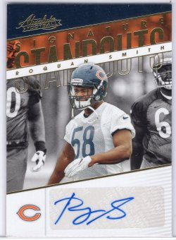 2018 Panini Absolute Roquan Smith Signature Standouts