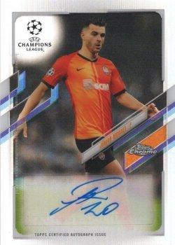 Junior Moraes 2000-01 Topps Chrome UCL Refractor Autograph
